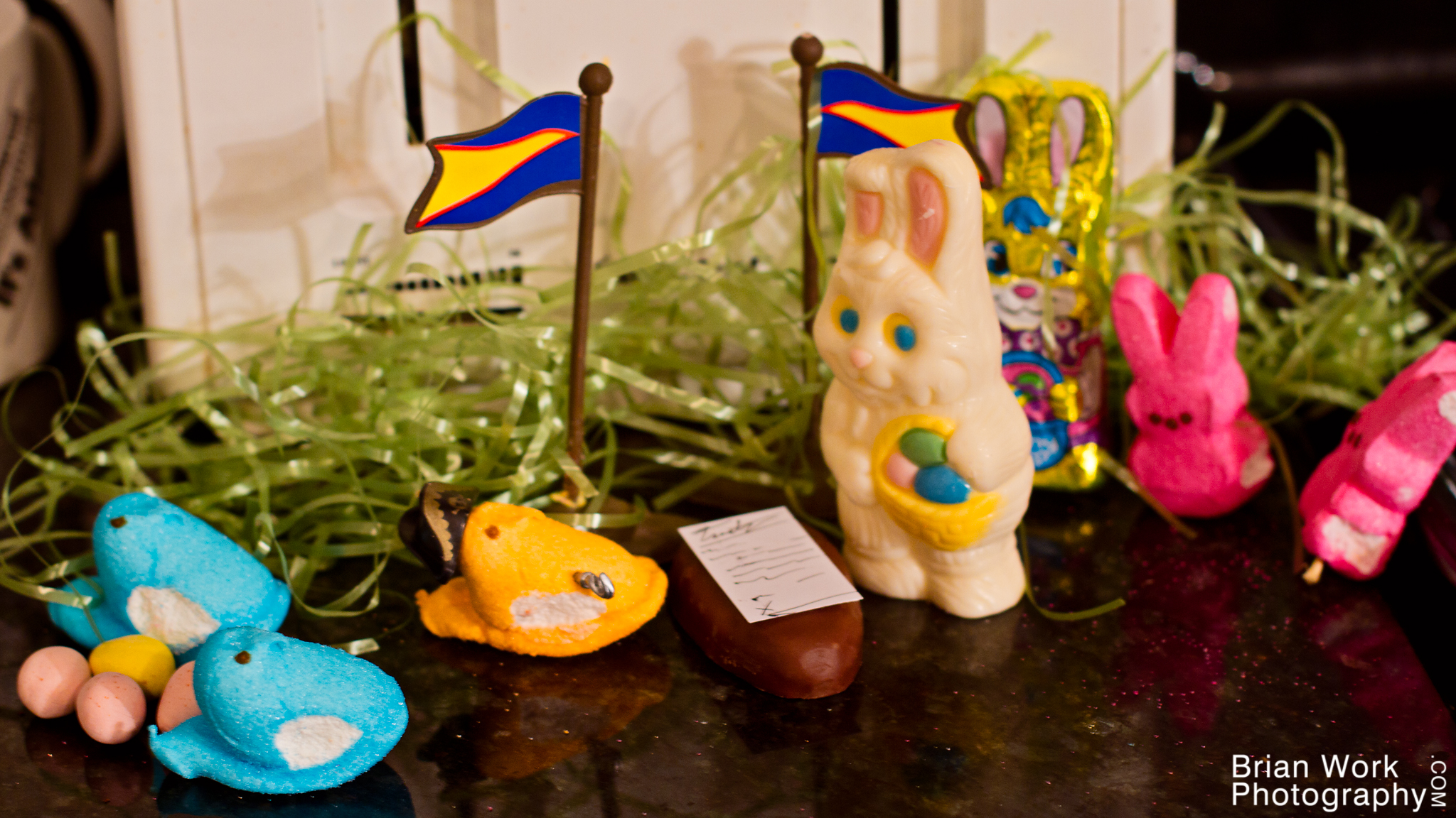 <h5>Their forces decimated, the remaining bunnies had no choice but to surrender. Admiral Peepton gladly accepted, and a treaty was drawn up that gave the Peeps the independence they had so richly earned and deserved.</h5><p>And that, my friends, is why we eat candy on Easter.</p>