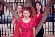 <h5>The Tanner girls: Stephanie, Michelle, & DJ</h5>