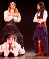 <p>Brenna Meek as Beatrice, Noelle Cameron as Hero, Anna Vu as Ursula</p>