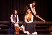 <p>Anna Vu as Ursula, Noelle Cameron as Hero, Brenna Meek as Beatrice</p>