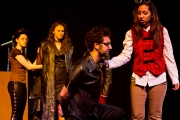 <p>Ashlee Schroeder as Seacole, Hannah Whitlock as Conrade, Jaiden Dosani as Borachio, Sophia Dhanani as Don Pedro</p>