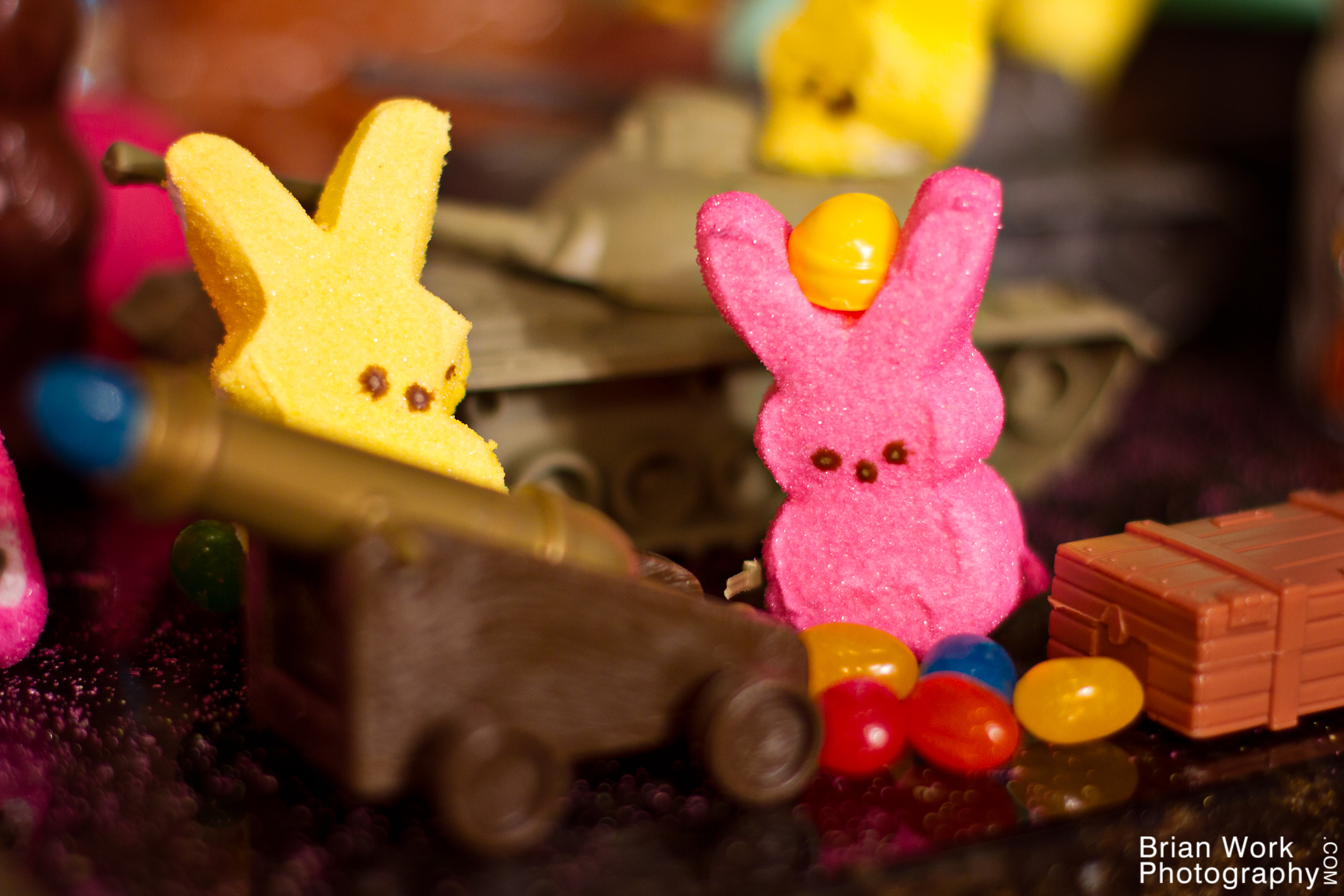 <h5>Cannoneer Bunnson hurled mockery and insults at his foes, confident in the superior firepower of the bunnies.</h5>