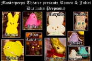 <h5>Dramatis Peepsonæ</h5><p>Dramatis Peepsonæ! Our players for today's show!</p>