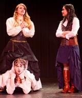 <p>Brenna Meek as Beatrice, Noelle Cameron as Hero, Anna Vu as Ursula</p>
